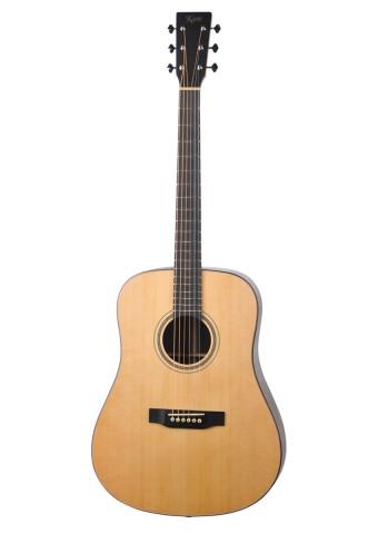 吉他平方自有品牌Kane凯恩吉他 新品KD10 面背单D型吉他正式发售