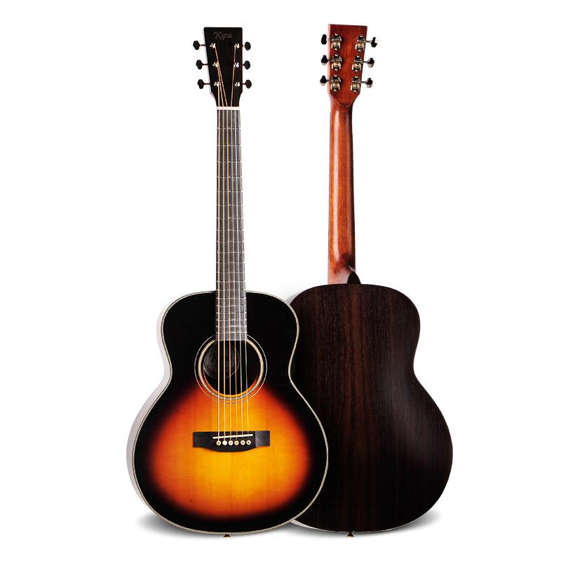 凯恩kane D/A型40/41寸初学缺角民谣木吉他